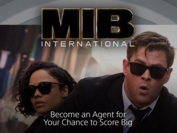 Sony Men in Black International Giveaway