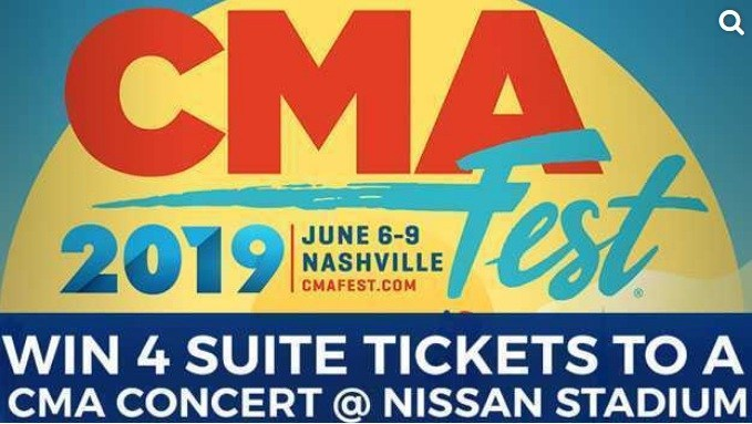 CMA Festival Concert Watch To Win Contest – Win A Pair Of Tickets