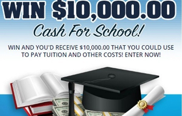 Cash for School Giveaway No. 13549 – Chance To Win Cash
