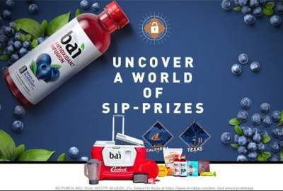 Drink Bai Sip Society Instant Win Game - Win A Trip