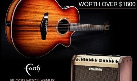 Faith Guitars And Fishman Giveaway