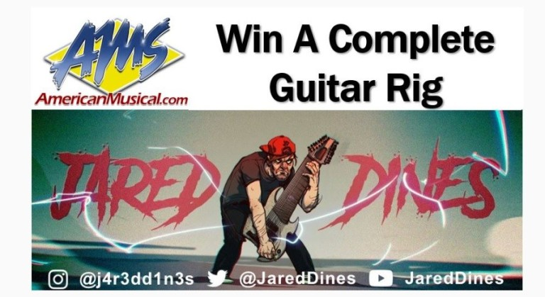 Jared Dines Dream First Guitar Rig Giveaway