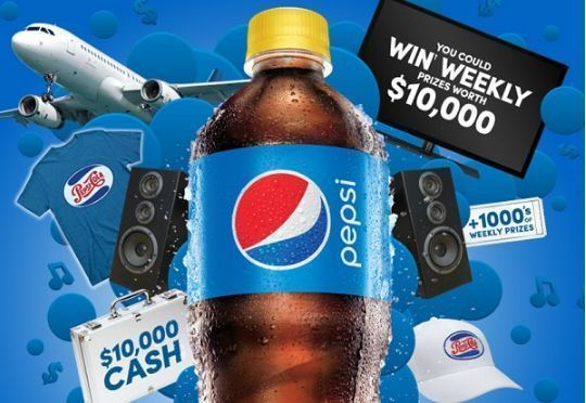 Drink Pepsi Get Pepsi Stuff Contest – Win $10000 Cash