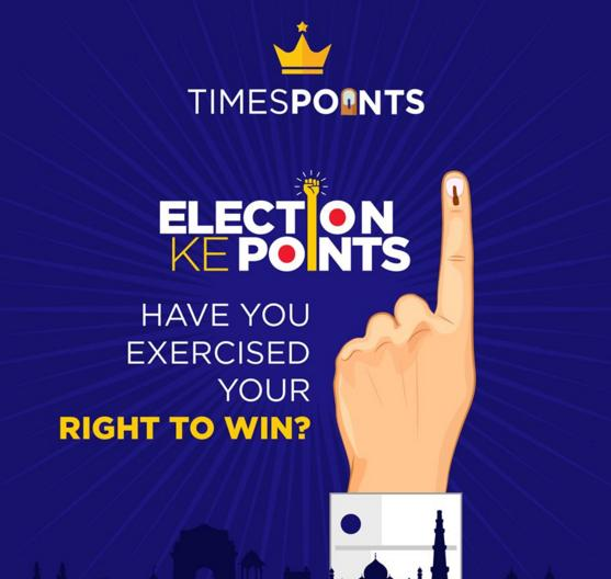 TimesPoints Elections ke Points Contest