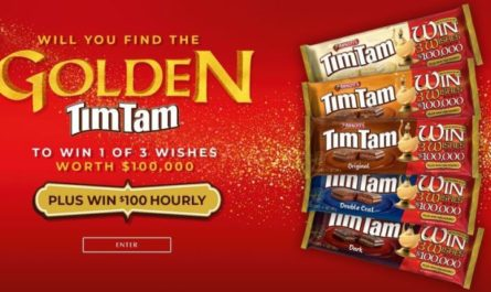 Win $100,000 check by joining Tim Tam 3 Wishes Competition Sweepstakes you can enter now, by followings terms and conditions to join this online contest