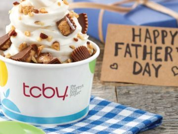 TCBY's Father's Day Giveaway – Win A Gift Card