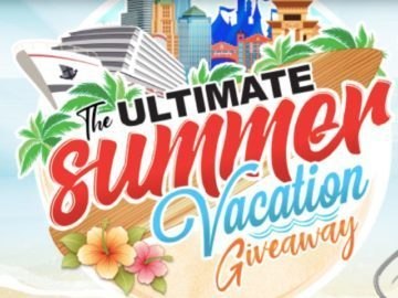The Ultimate Summer Vacation Giveaway – Chance To Win Trip