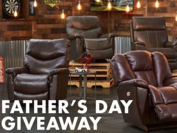 Slumberland Furniture Father's Day La-Z-Boy Giveaway – Win A Gift