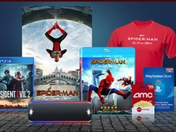 Sony Rewards SpiderMan Passport to Prizes
