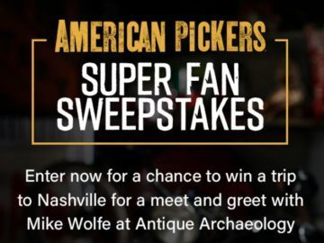 History Channel American Pickers Super Fan