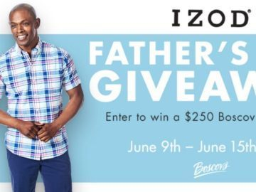 Izod Father's Day Giveaway