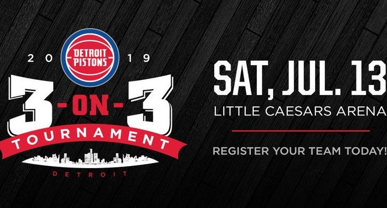 Detroit Pistons 3-on-3 Tournament Online Contest – Win Tickets