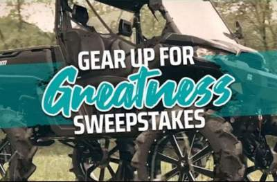 GEAR UP FOR GREATNESS SWEEPSTAKES