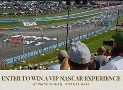 Finger Lakes Wine Country VIP NASCAR Experience Sweepstakes