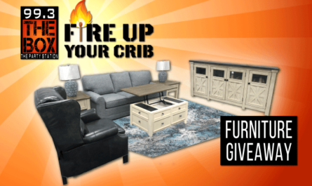 The Box Fire up Your Crib Furniture Giveaway
