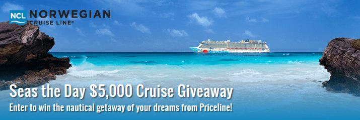 Priceline Cruises Seas the Day Giveaway – Win $3500 Norwegian Cruise Line Cruise Voucher