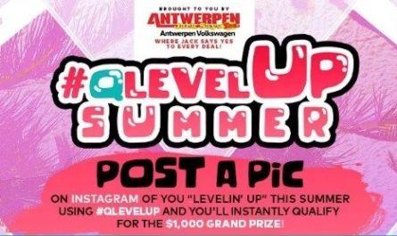 Q Level Up Summer Instagram