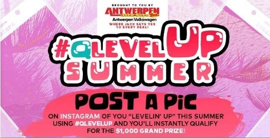 Q Level Up Summer Instagram Sweepstakes 2019 – Win $1000 Cash