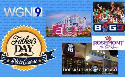 WGN TV Father's Day Photo Contest