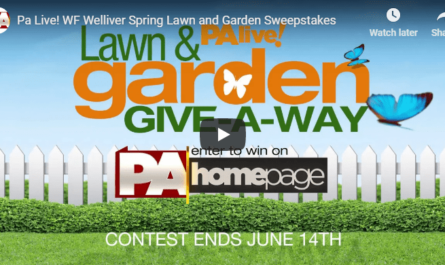 Pa Live WF Welliver Spring Lawn and Garden Sweepstakes