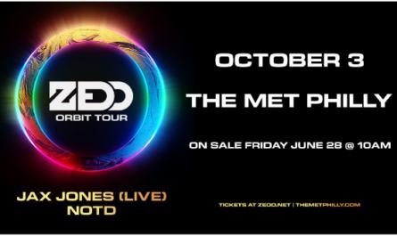 ZEDD The Orbit Tour Sweepstakes
