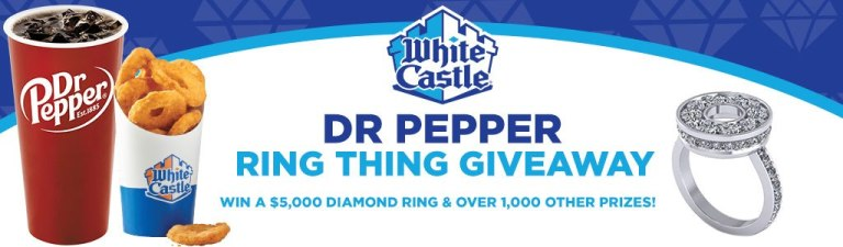 Dr Pepper Ring Thing Giveaway