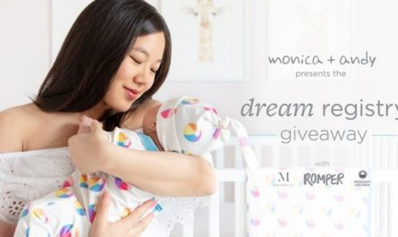 Monica and Andy Dream Registry Giveaway