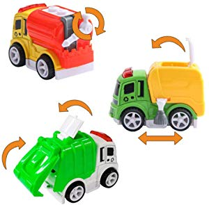 Tarpul Toy Cars Toy Vehicle Street Sweeper Truck Water… Giveaway