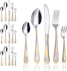20-Piece Silverware Flatware Cutlery Set- Stainless Steel Utensils – Giveaway