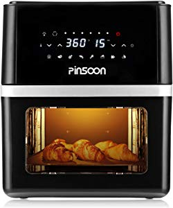 PINSOON Air Fryer Oven 10 QT with 31 Recipes Sweepstakes