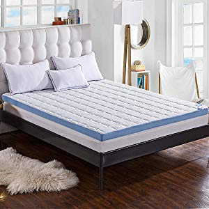 Comfort & Relax 3-inch Foam Mattress Topper with Ultra Soft Cover Giveaway