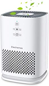 Elechomes Air Purifiers for Home with True HEPA Filter Giveaway