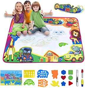 Magic Doodle Mat-Water Drawing Mat-Magic Educational Toys Booklet Giveaway