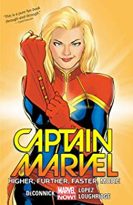 Captain Marvel Vol. 1: Higher Giveaway