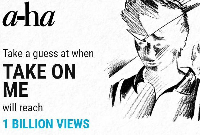 A-Ha Billion Views Contest