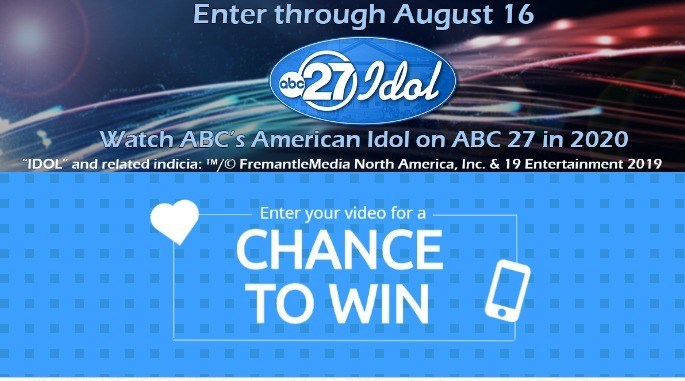 ABC 27 Idol Contest – Win a Front of The Line Pass