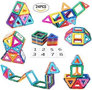 AMOSTING Magnetic Building Blocks Present Package Toy Sweepstakes