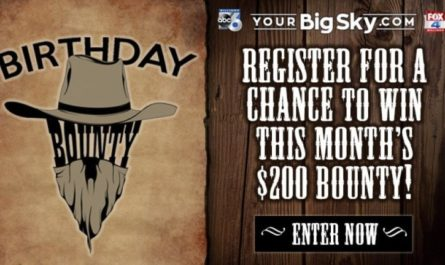 Birthday Bounty Sweepstakes