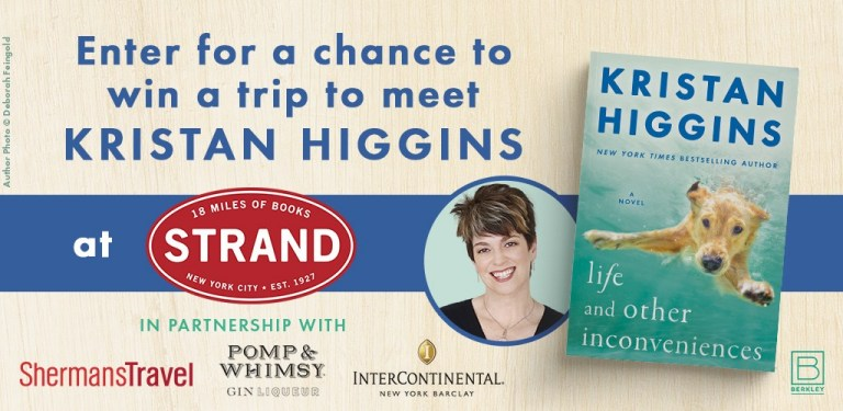 Berkley Meet Kristan Higgins at The Strand Sweepstakes