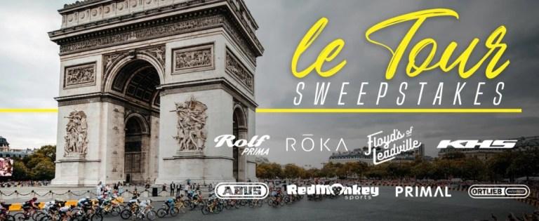 BikeExchange TDF Sweepstakes
