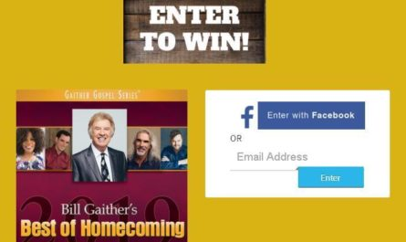 Bill Gaither's Best of Homecoming Sweepstakes