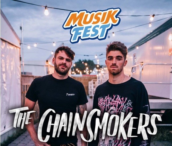 The Chainsmokers At Musikfest Contest