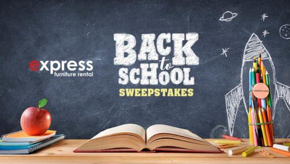 Express Furniture Rental Back to School Sweepstakes