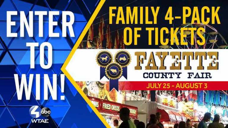 Fayette County Fair III Sweepstakes