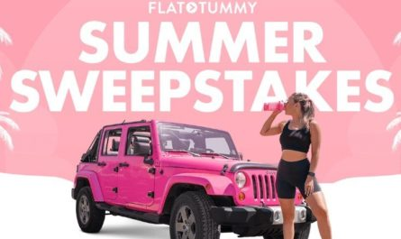 Flat Tummy Jeep Wrangler Sweepstakes