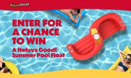 Heluva Good Pool Float Sweepstakes