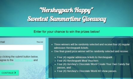 Hersheypark Happy Sweetest Summertime Giveaway