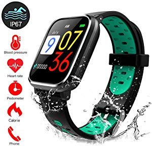 SYCYKA Fitness Tracker Smart Watch Bluetooth for Android… Giveaway