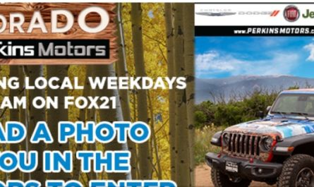 Outdoor Colorado Jeep Gladiator Sweepstakes