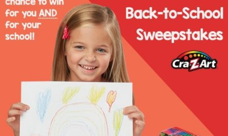 Larose Cra-Z-Art Back To School Sweepstakes